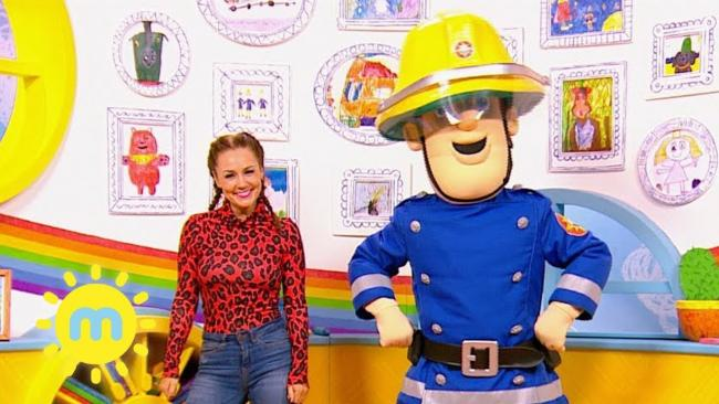 STAR: Fireman Sam was a big hit at Malvern