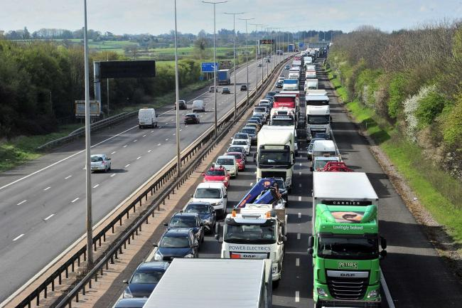 Lane closure warning as Junction Six work continues on M5