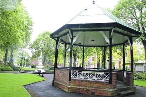 There will a number of events this year around the bandstand