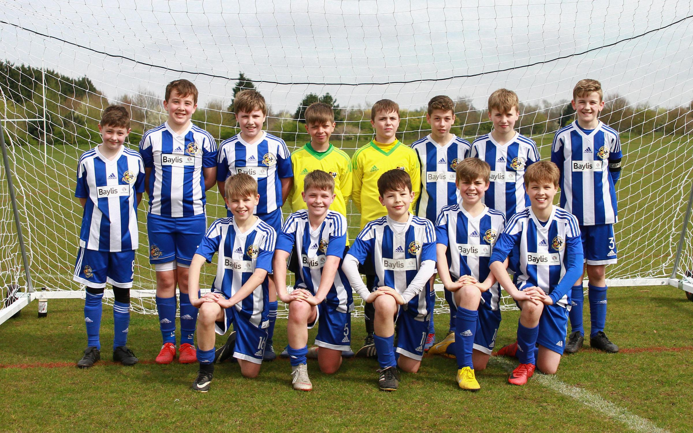 Worcester City Youth under 12s. Picture: DAN EGLIN