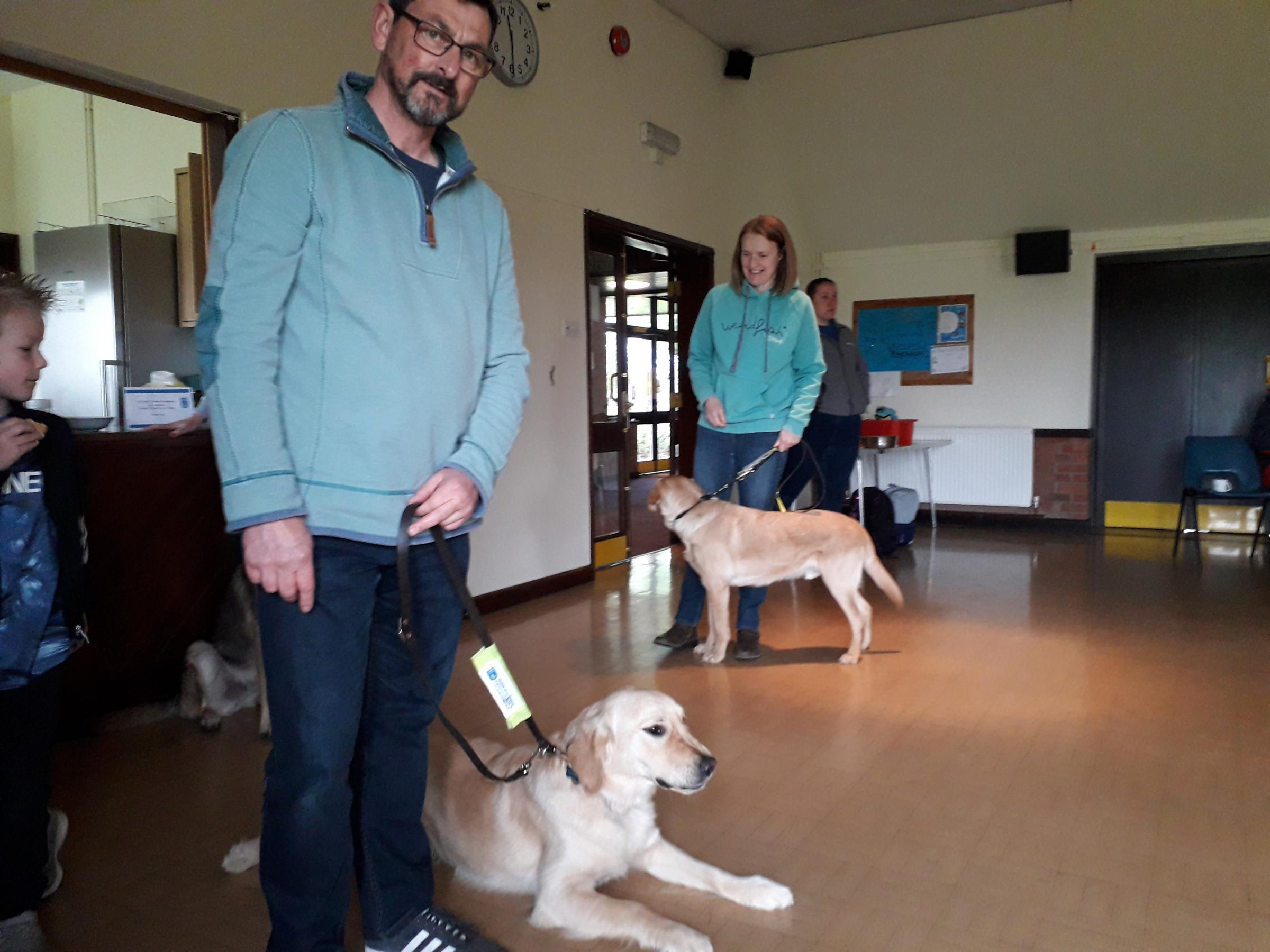 Meet Worcestershire's trainee guide dogs and volunteers