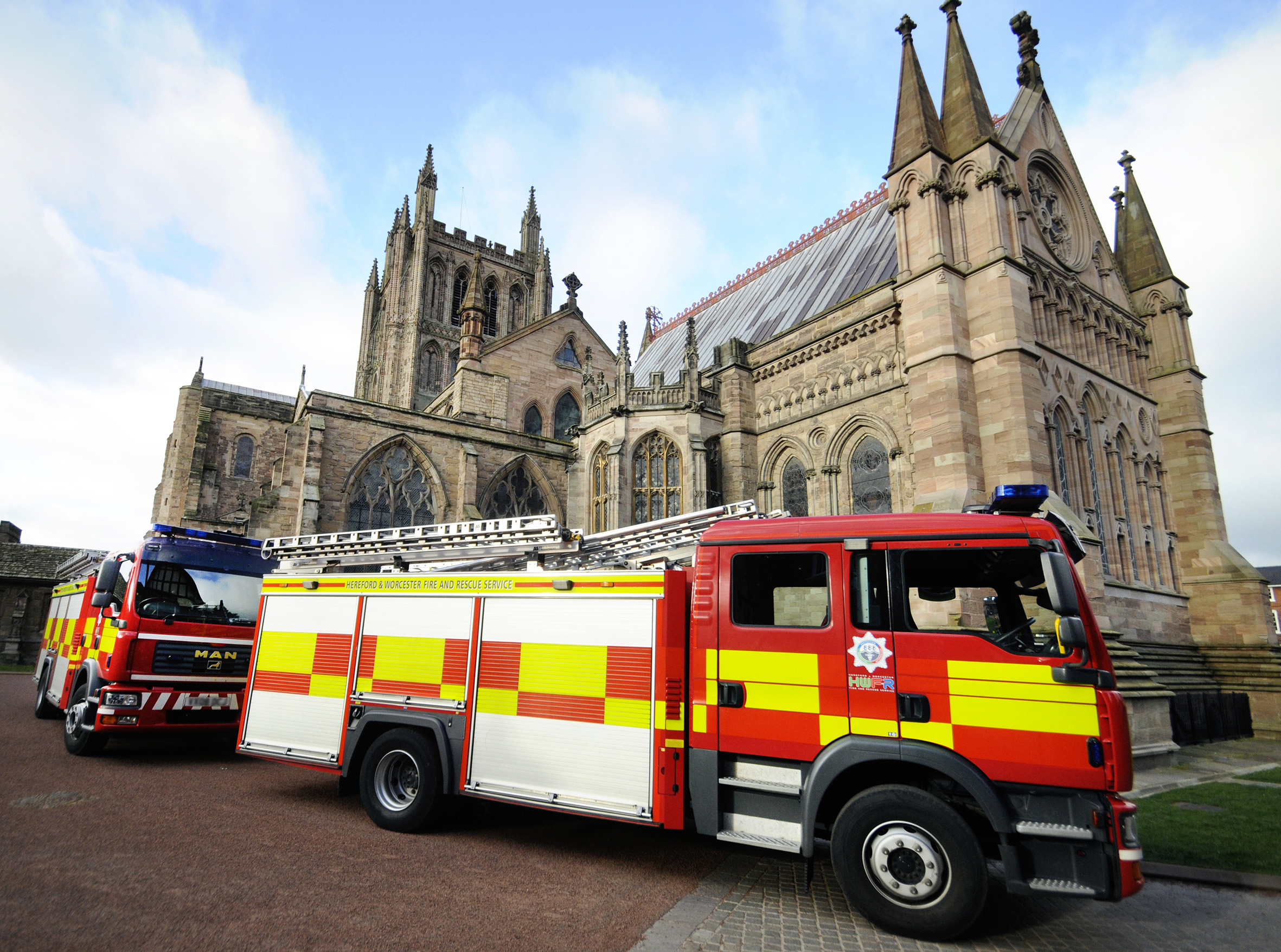 PROTOCOL: Training exercises take place regularly at Hereford and Worcester cathedrals