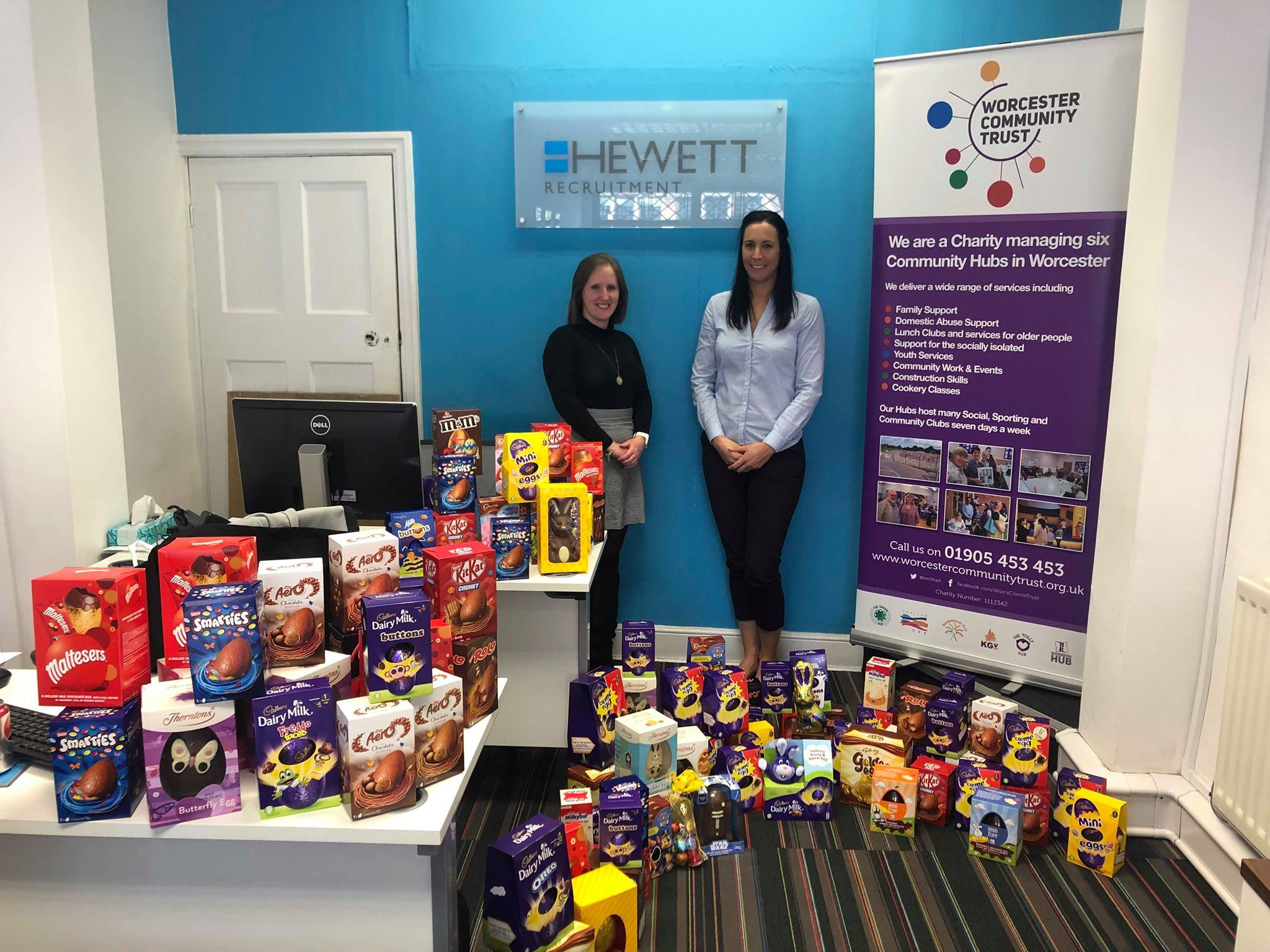 County recruitment firm organises Easter egg drive for disadvantaged children