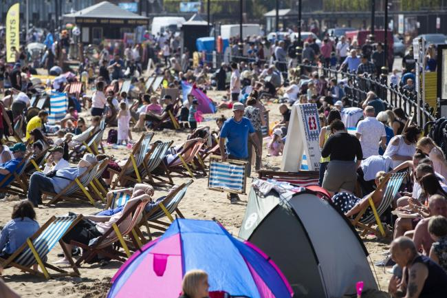 Temperatures top 25C on warmest day of the year so far | Worcester News