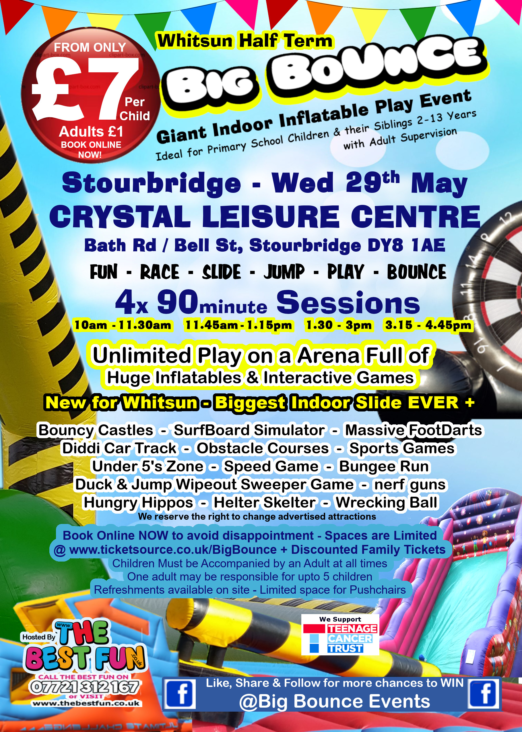 Stourbridge Whitsun Big Bounce