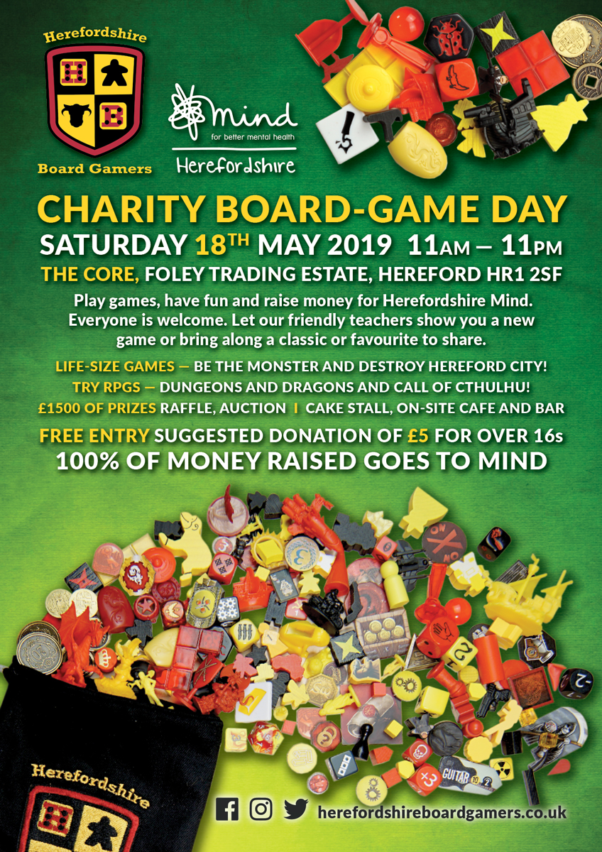 Charity Board Game day