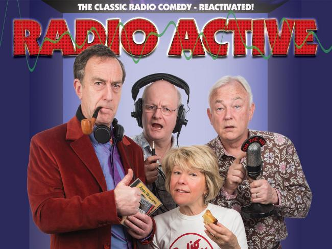 Hit BBC radio comedy series Radio active comes to Artrix