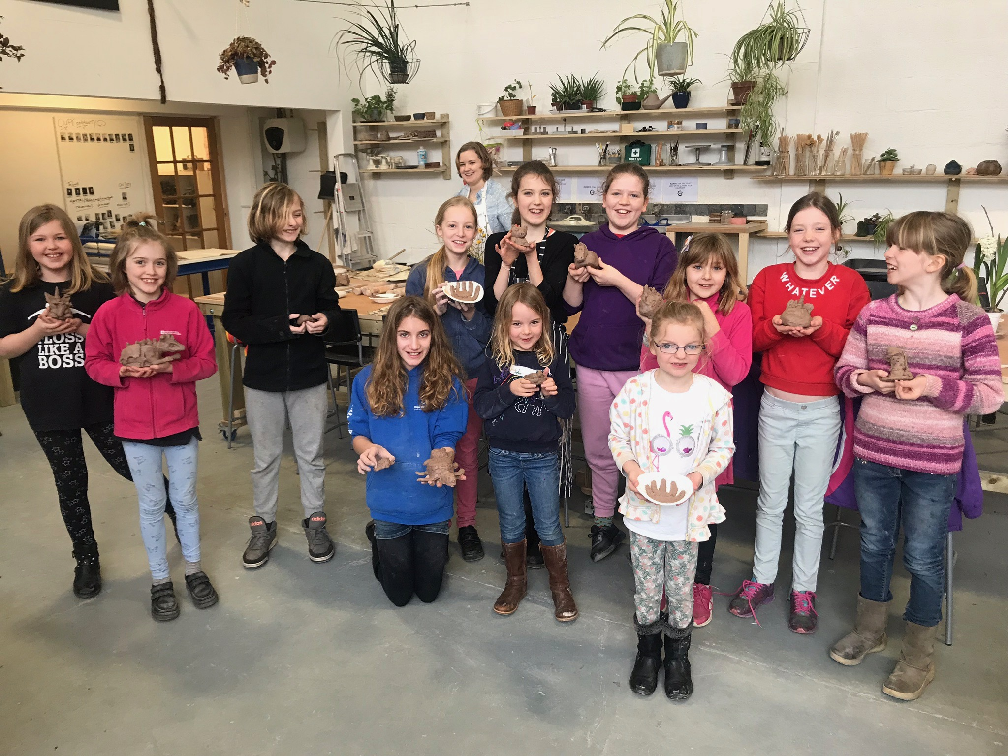 Kids Pottery Course