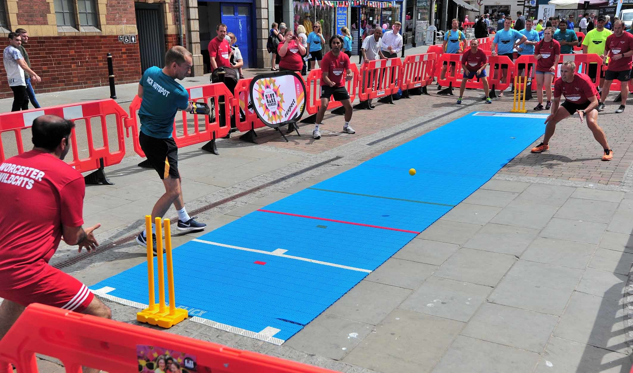 Street cricket returning to Worcester with Worcestershire Street Sixes
