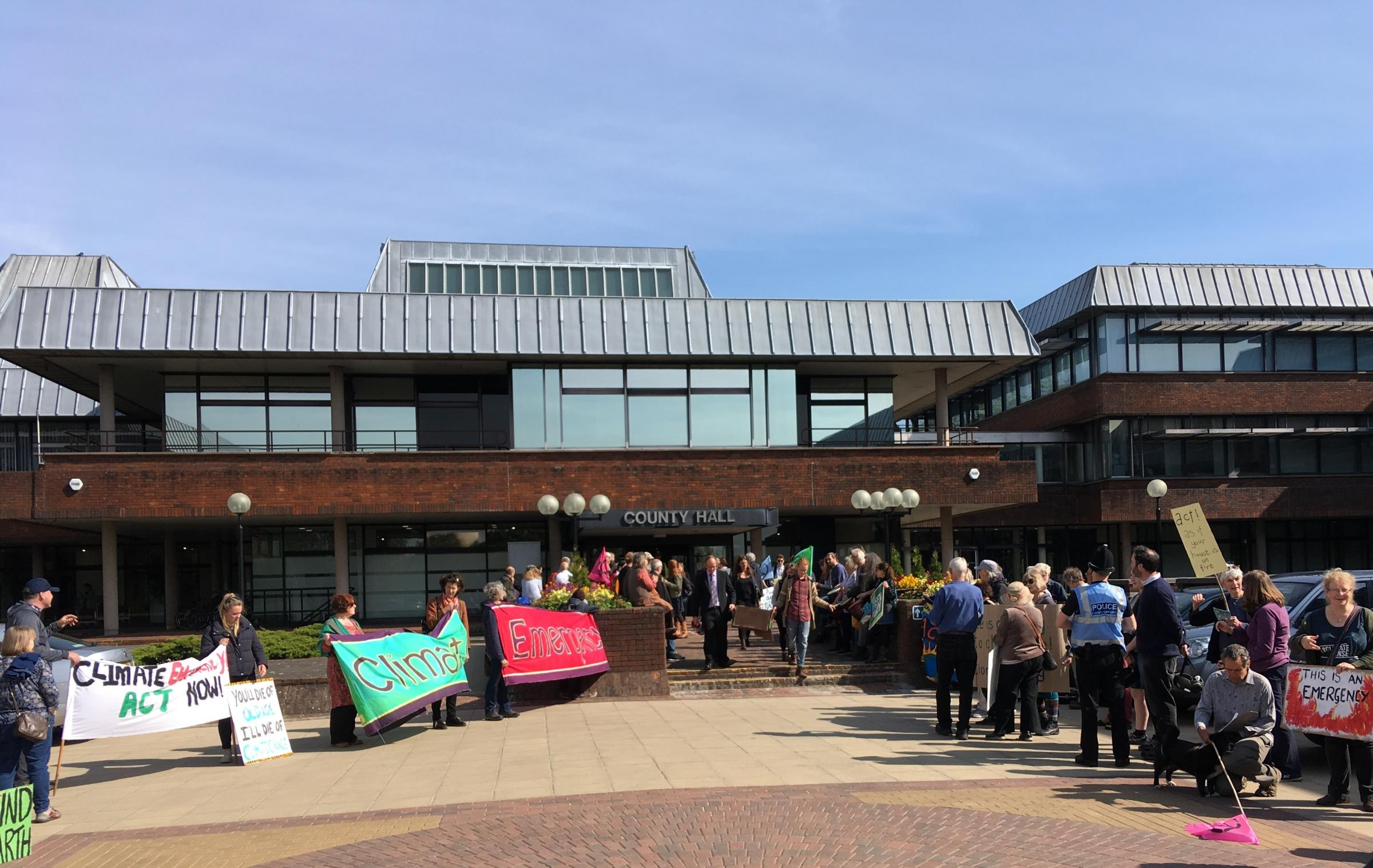 Call for Worcestershire County Council to declare climate emergency rejected