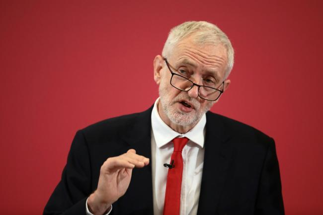 REMAIN?: Labour Leader, Jeremy Corbyn at a recent party event. Picture: Dan Kitwood/Getty Images
