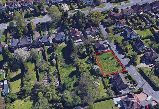 HOME: A plan to build a two-storey four-bedroom home on green land in Nunnery Lane off Spetchley Road looks set to be rejected.