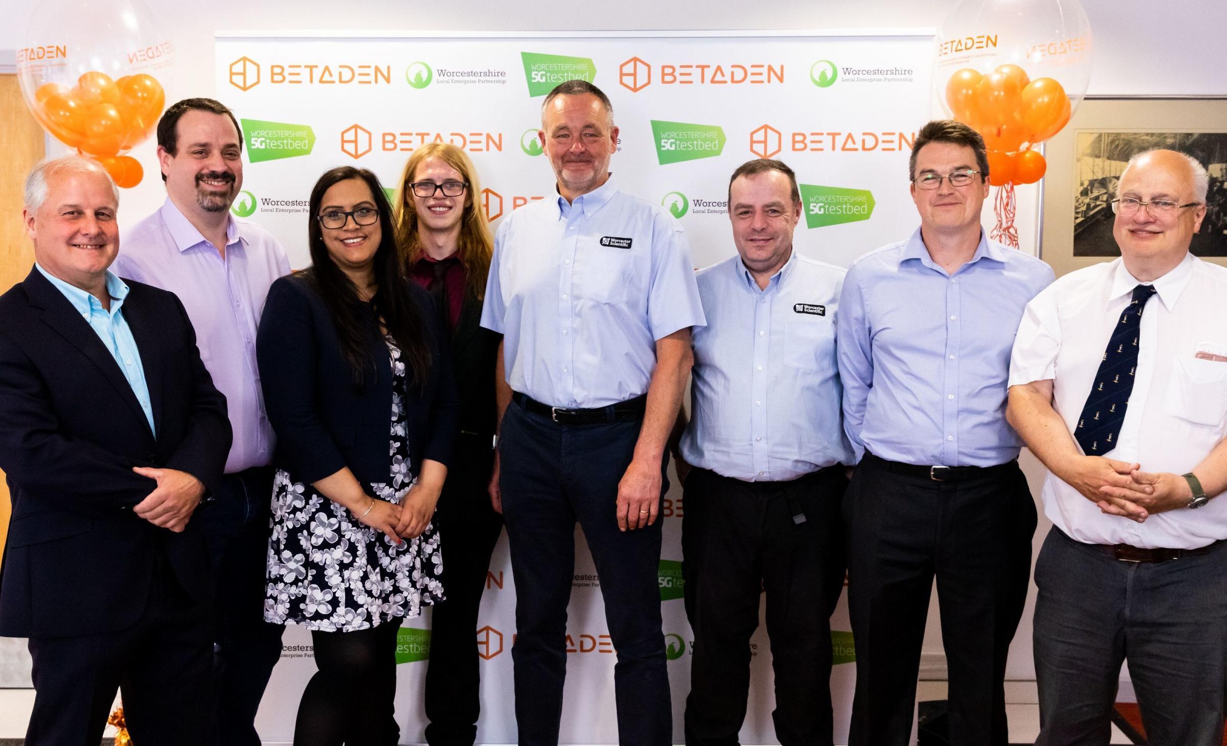 Tech firms meet for BetaDen's cohort 1.0 event in Worcester