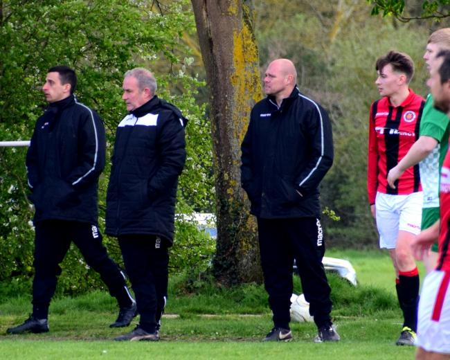 Droitwich Spa's joint-manager Mark Owen..