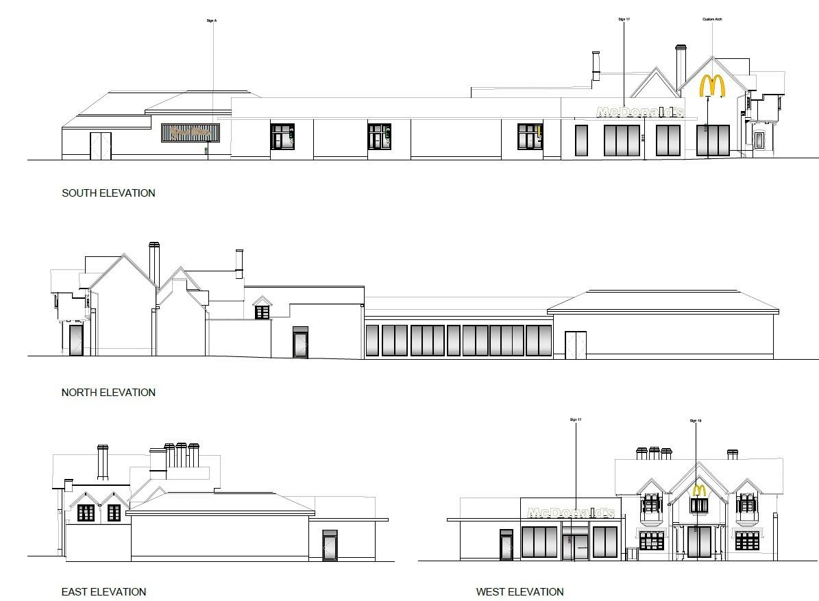 McDonald's wants to turn former Perdiswell pub into new