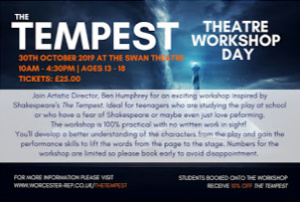 The Tempest - Theatre Workshop Day